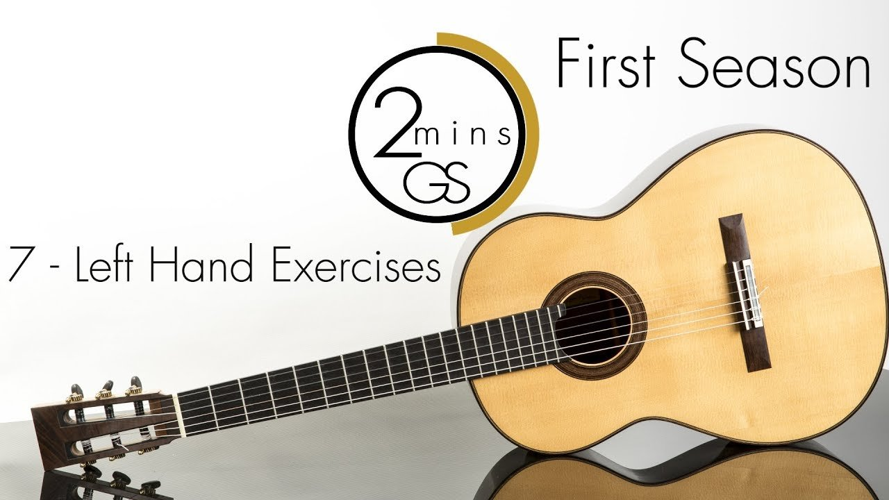 7 Left Hand Exercises 2 Minutes Guitar School How To Play