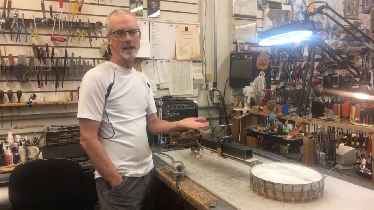 In The Shop: Heat Pressing a Neck | Elderly Instruments