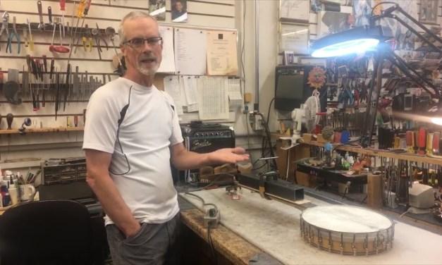 In The Shop: Heat Pressing a Neck | Elderly Instruments