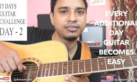 Guitar Lesson DAY – 2 | Guitar Introduction ( IN HINDI) | Absolutely Beginners