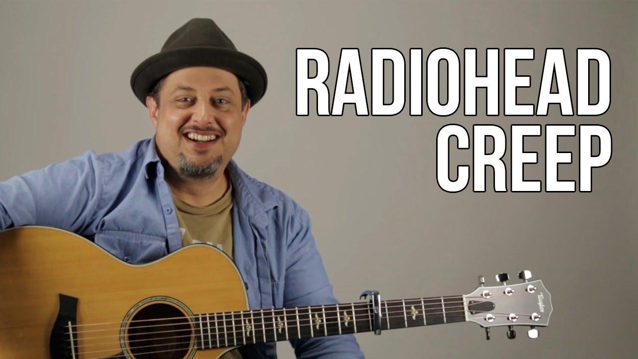 Creep Radiohead Guitar Lesson How To Play On Guitar Tutorial