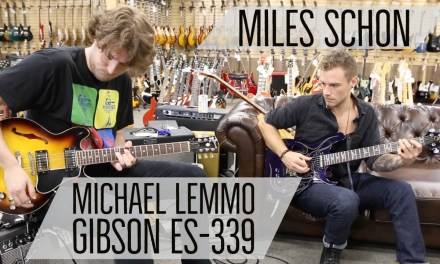 Miles Schon with Michael Lemmo | Gibson ES-339 at Norman's Rare Guitars