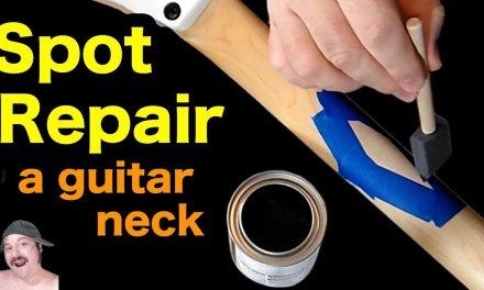 Spot Repair Polyurethane – Guitar Neck