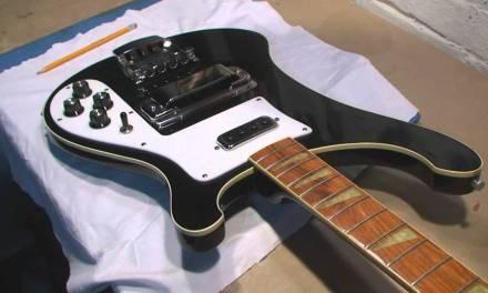 Rickenbacker Bass Guitar Repair and Review