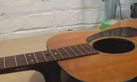 1964 Martin Guitar Restoration Repair Part 1 Neck Removal