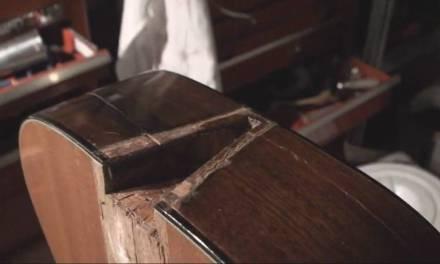 1964 Martin Guitar Restoration Repair Part 2.. It Is Apart