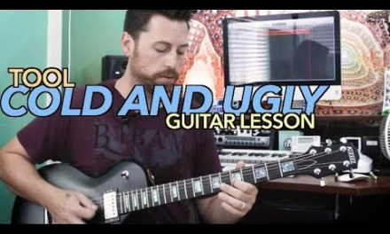 Tool Cold and Ugly Guitar Lesson