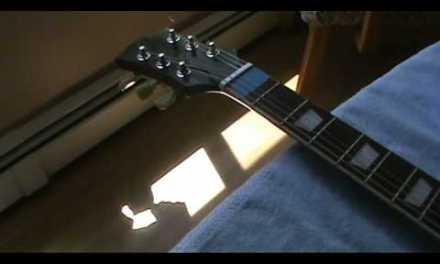 Guitar repair…New nut