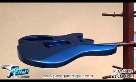 Pace Guitar Repair Paint Booth Tour