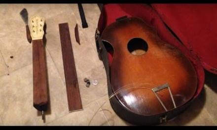 c.1930 Kay Kraft Venetian Archtop Guitar REPAIR & DEMO
