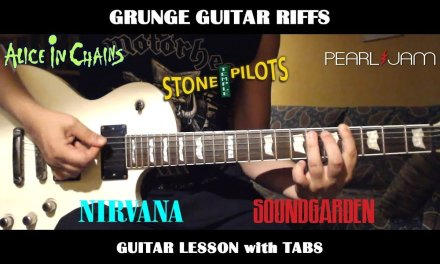 Grunge Guitar Riffs – GUITAR LESSON with TABS – 5 Riffs You Must Know