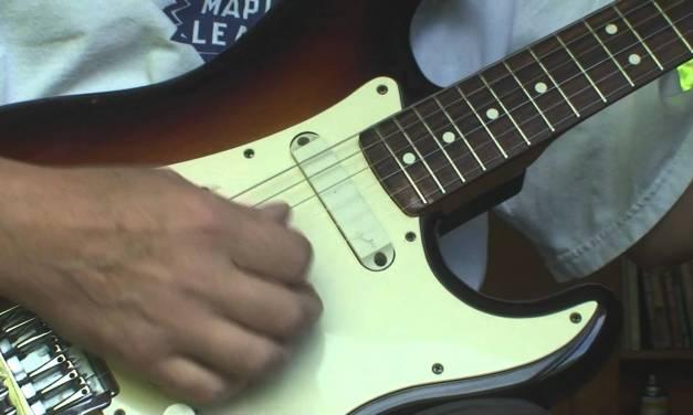 1983 Fender Elite Stratocaster Repair Part 2