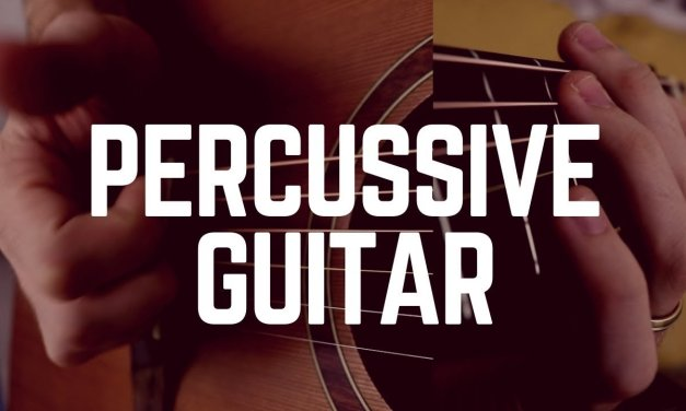 Three Awesome PERCUSSIVE Technique on GUITAR … You Should Know