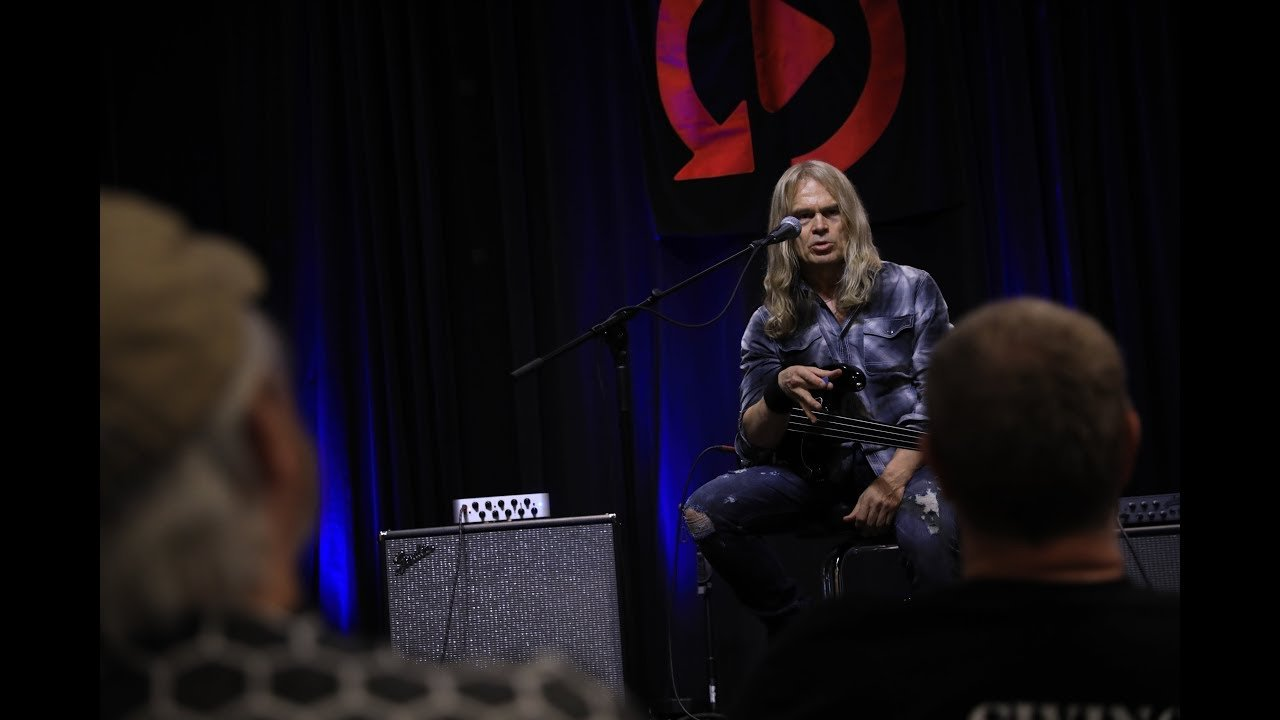 Tony Franklin Master Class Highlights at Replay Guitar Exchange