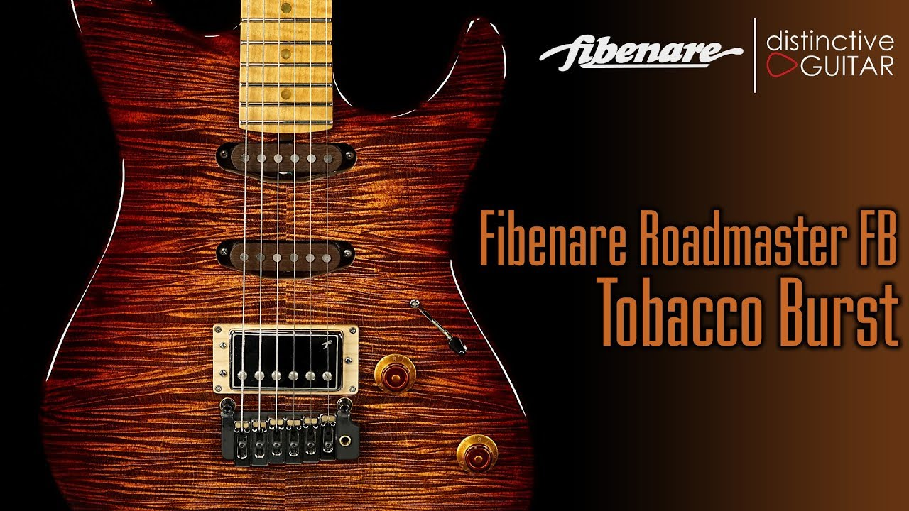 Fibenare Roadmaster FB Guitar | Tobacco Sunburst