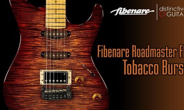 Fibenare Roadmaster FB Guitar | Tobacco Sunburst