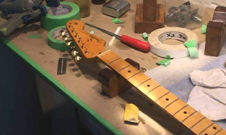 Fender Stratocaster 50th Anniversary  Repair and Setup