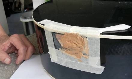Filling holes in an acoustic guitar (Never Let a Drummer Have a Guitar Pt-3)