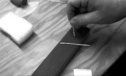 Accurate Stripped Tuner Screw Hole Guitar Repair
