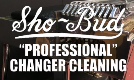 Pedal Steel Guitar Repair: Sho~Bud Professional Changer Cleaning