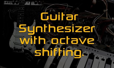 Quick demo of Guitar Synth with octave shifting.