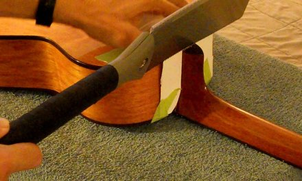 Fender Squier Small Guitar Quick Neck Reset