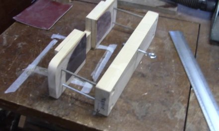 Dovetail Steaming Fixture