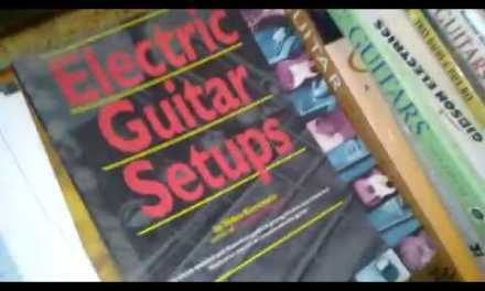 OLD GUITAR CATALOGS and REPAIR BOOKS