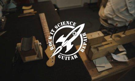 Rock It Science Guitar Repair Promotional Film
