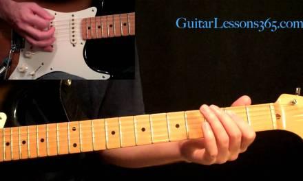 Metallica – Enter Sandman Guitar Lesson Pt.1 – Intro & Main Riff