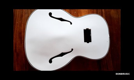Jazz Guitar Restoration