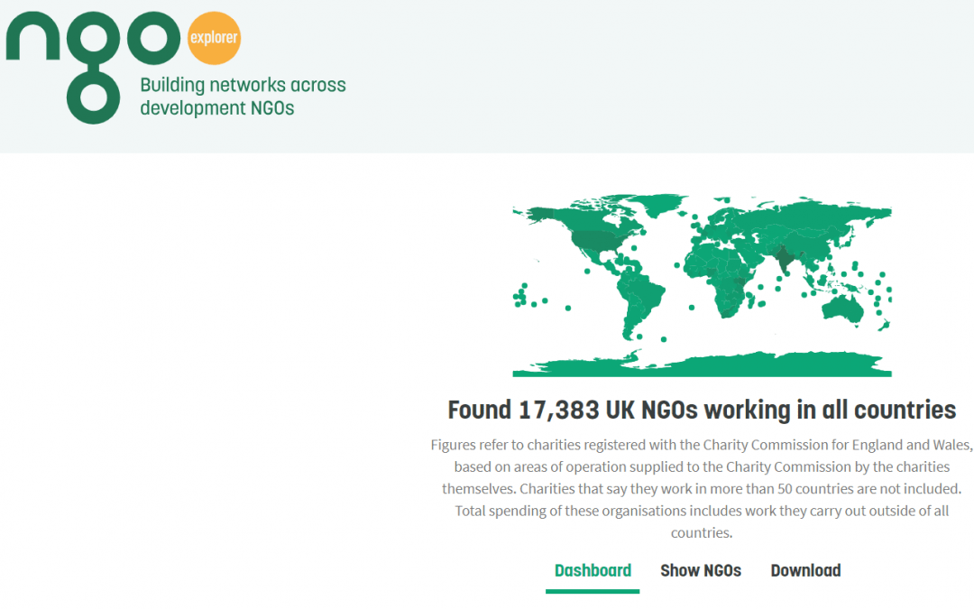 Exploring the UK's NGO sector