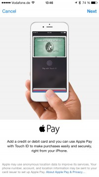 Hello  Apple Pay