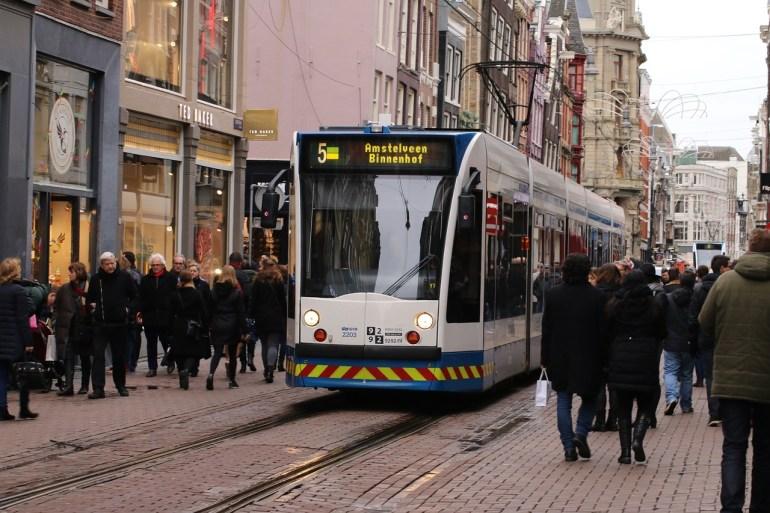 Tram in den Niederlanden