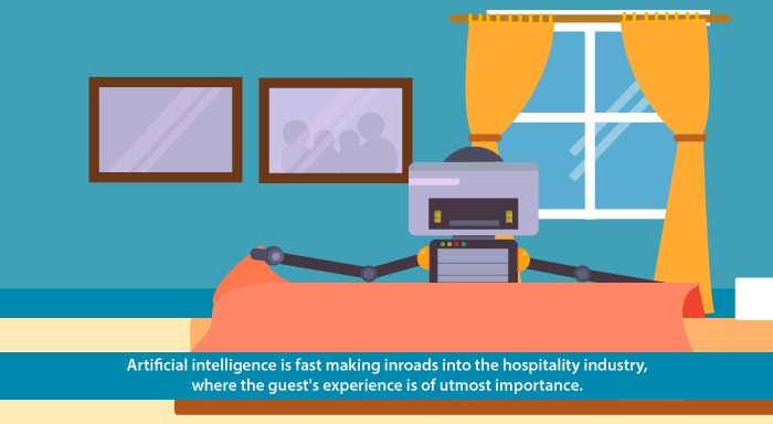 Artificial intelligence in hospitality industry