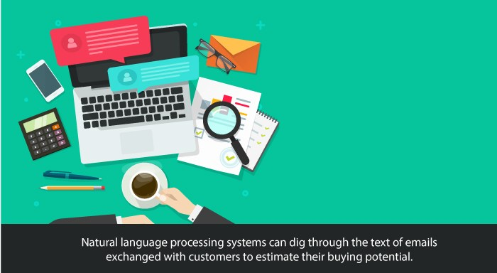 Natural Language Processing - increase customer's buying potential