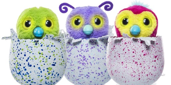 The Christmas of broken Hatchimals
