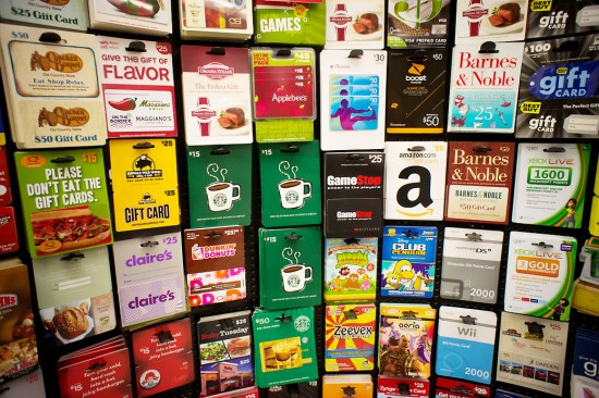 Gift cards may not be the greatest gift idea anymore