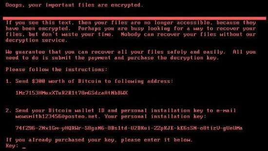 New ransomware might not be able to be paid off
