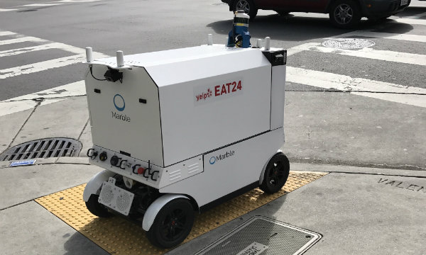 San Francisco bans delivery robots