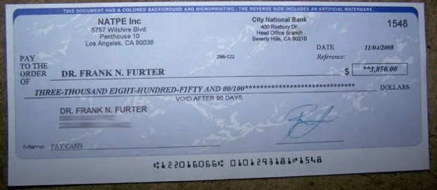 The phony check scam revisited