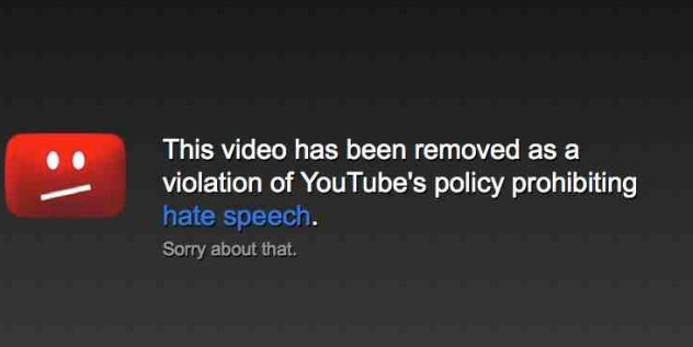 YouTube's livestream of hate speech hearings was flooded by hate speech
