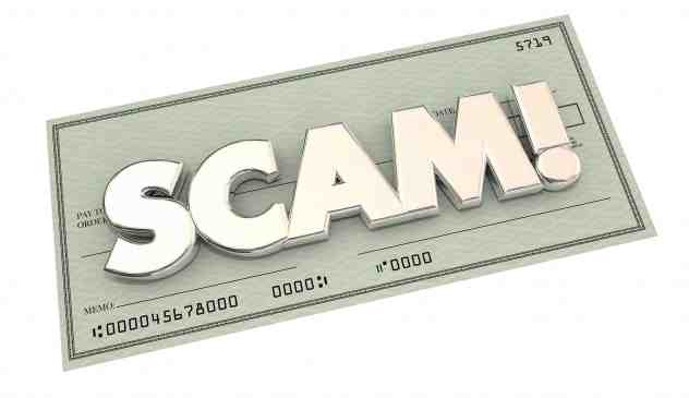 Freelance gig platform targeted in check scam