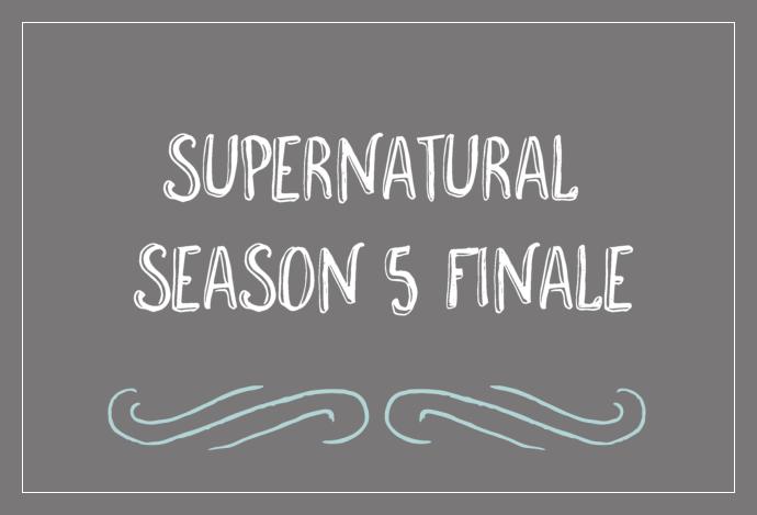 Supernatural Season 5 Finale