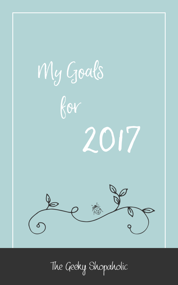 My Goals for 2017