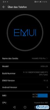 Auf aktuellem Stand: Android 9 Pie