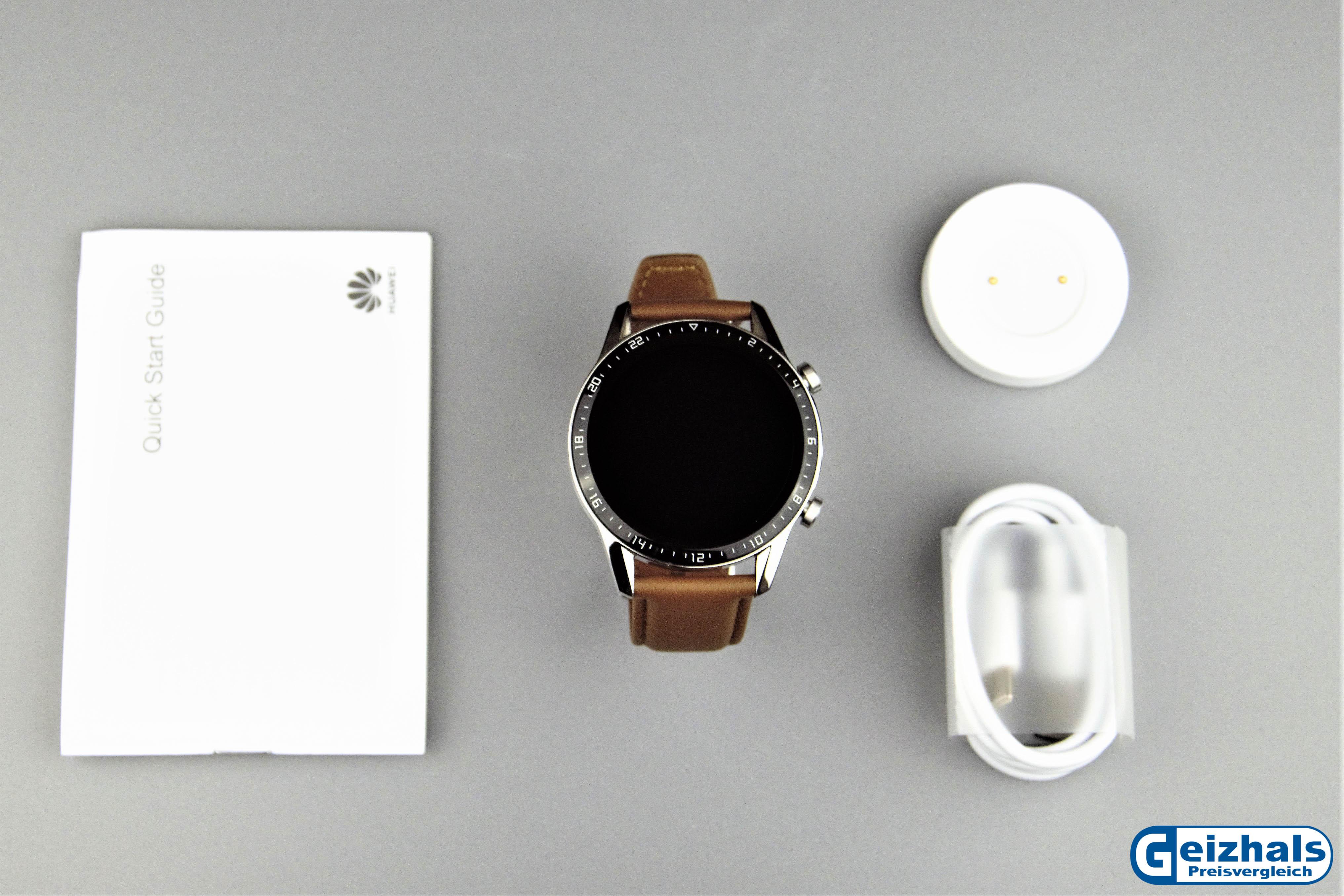 Lieferumfang der Huawei Watch GT 2