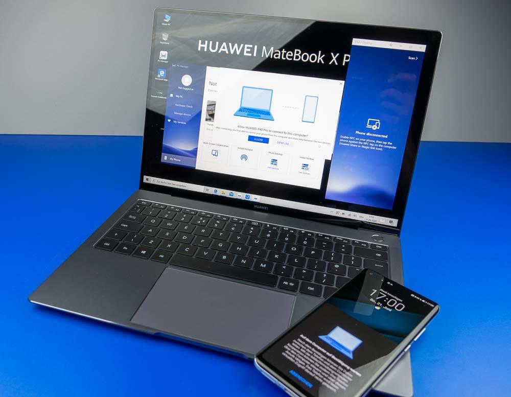 MateBook X Pro und Huawei Share OneHop