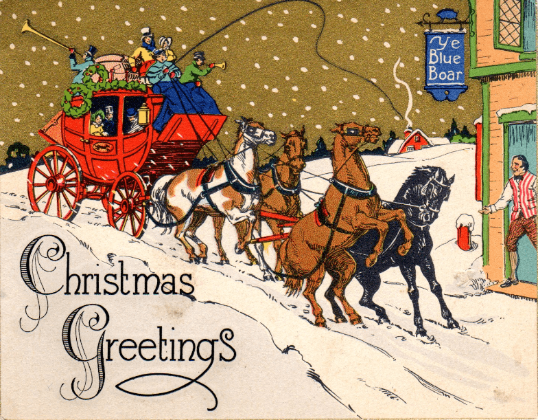 Exploring Amp Preserving Family History With Christmas Cards