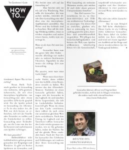 swiss magazine bryan roth